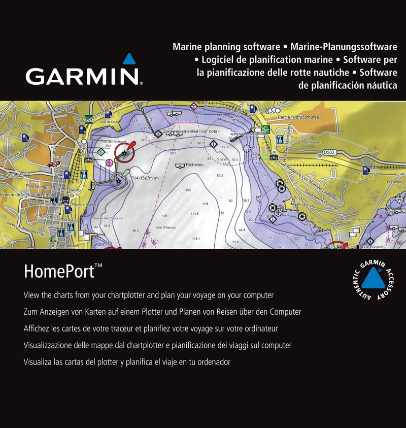 Garmin HomePort