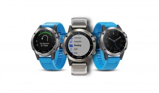 Garmin lanza el quatix® 5, el nuevo reloj para los amantes